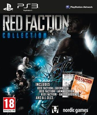 RED FACTION AND Red Faction 2 (PS2) VideoGames (discs only