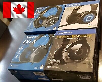 PDP Afterglow Headset Playstation 4 PS4 LVL 3 / AG 6 / AG 9 / Sound Of Justice