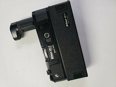 Nikon MD-3 Motor Drive + MB-2 Battery Pack For F2