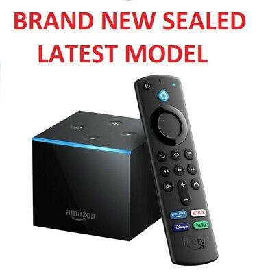 Amazon Fire TV Cube with Alexa and 4K Ultra HD Streaming Media Player NEW SEALED