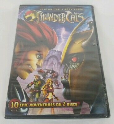 Thundercats: First Season 1 One - Book 3 Three (DVD, 2012, 2-Disc Set, NEW!!)