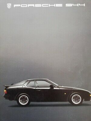 catalogue PORSCHE 944 Juillet 1984 Katalog catalog catalogo 100% original