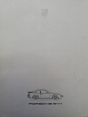 catalogue PORSCHE 944 Juillet 1985 Katalog catalog catalogo 100% original