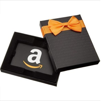 $100 AMAZON GIFT CARD With Decorative Box - FAST FREE 2 DAY SHIPPING