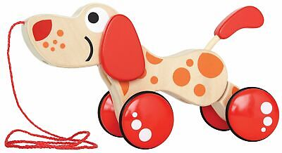 Walk-A-Long Puppy Wooden Pull Toy by Hape | Award Winning Push Pull Toy Puppy ..