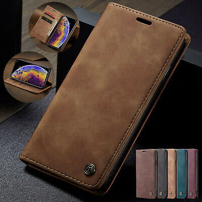 Luxury Flip Leather Wallet Card Slots Stand Case Cover for iPhone XS Max XR XS X