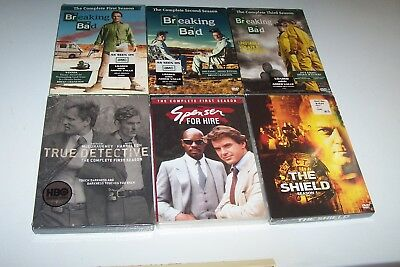 Dvd,True Detective,The Shield,Spenser For Hire,Breaking Bad,Drama,Tv Shows,Hbo.