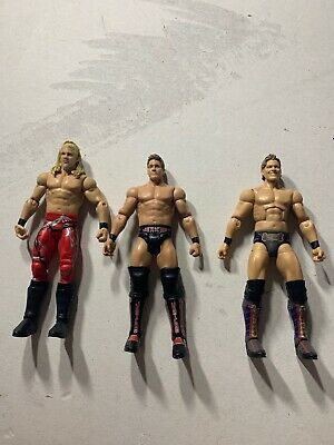 Chris Jericho Entrance Greats elite 53 basic lot of 3 mattel wwe Y2J rare HTF