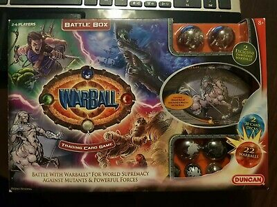 Warball Battle Box. Trading Card Game. 2008. Sealed Cards & Booklet