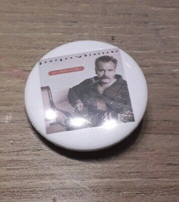 Badge 32mm brassens 26