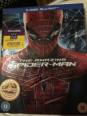 The Amazing Spider-Man (Blu-ray, 2012, 2-Disc Set)