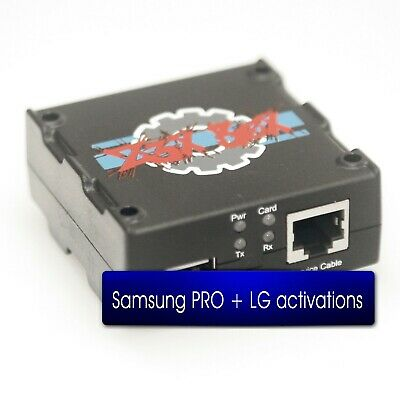 Z3X SAMSUNG LG BOX Gold Version Activated Samsung PRO &LG Without