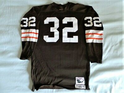 d97012ac Mitchell Ness M&N Cleveland Browns Authentic Jim Brown Jersey DURENE USA XL  48