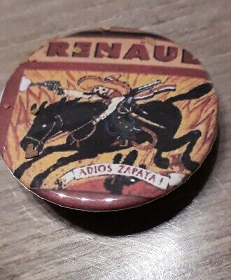 Badge 32mm Renaud n°43
