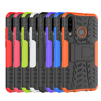 Shockproof Rugged Hybrid Armor KickStand Case Cover For Huawei P Smart Plus 2019