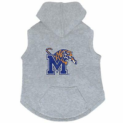 University of Memphis Tigers Dog Hoodie - XS Gray - Sweatshirt - NCAA - NWT
