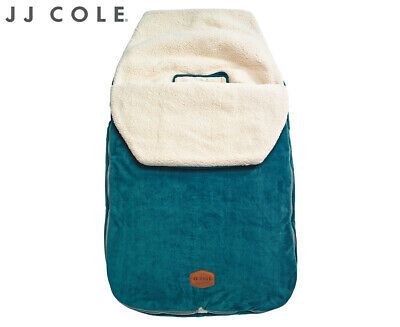 JJ Cole Toddler Original BundleMe Pram Stroller Sleeping Bag Footmuff - Teal
