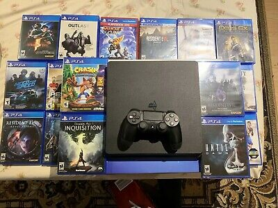 PLAYSTATION 4 SLIM 1TB Call of Duty: Black Ops 4 Bundle + Extra PS4