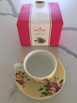 Royal Albert Country Rose Cup and Saucer