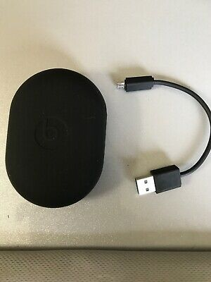 Dr. Dre Power Beats 2 Case Rubber Silicone Plus Charging Cord