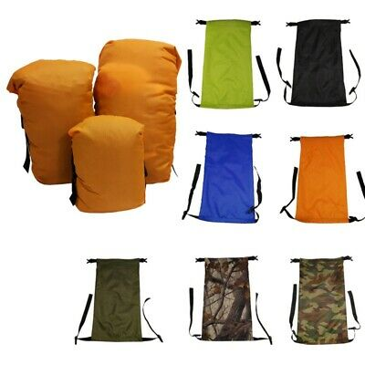 US Inflatable Air Sofa Bed Lazy Sleeping Camping Bag Beach Hangout Couch Windbed