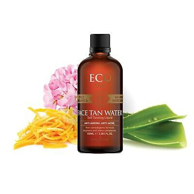 Face Tan Water By Eco Tan - Natural, Organic & Vegan - Approved Stockist