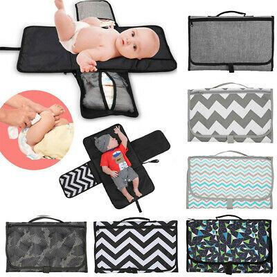 Multifunction Diaper Changing Bag Nappy Pad Foldable Bag Baby Changing Mat Gifts