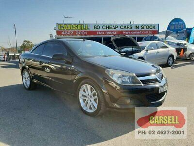 2006 Holden Astra TS MY06 Black Automatic 4sp A Convertible