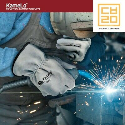 Premium TIG Welding Gloves, Leather work Gloves, 808 - KameLo