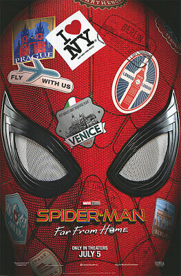 Spider-man : Far From Home Advance A Movie Poster Double Sided 27x40 Original