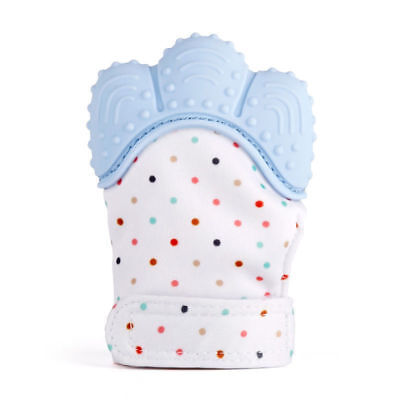 Baby Silicone Mitts Teething Mitten Teething Glove Candy Wrapper Teether