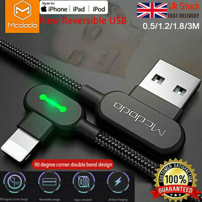 TITAN POWER+ Smart USB Charging Charger Sync Data Cable 3.0 For iPhone 2019 New