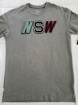 6c9450b1 Nike Sportswear NSW 2 T-shirt Men's Large Gray Brand New with Tags 927396  091