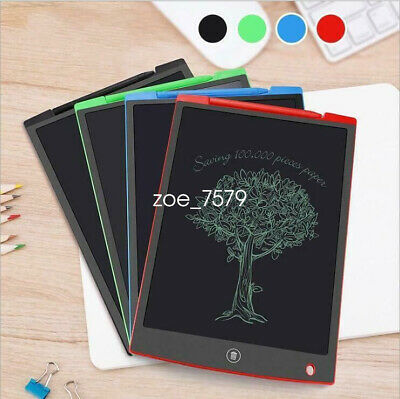 "8.5 12"" Electronic Digital LCD Writing Pad Tablet Drawing Graphics Board for Kid"