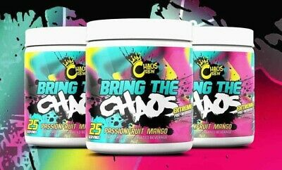 CHAOS CREW BRING The Chaos Pre-Workout 372g FREE DELIVERY *ALL  FLAVOURS**SAMPLE* - £2.89 | PicClick UK