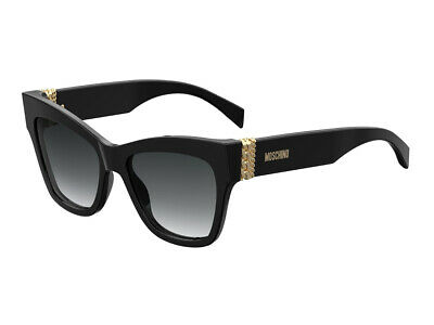 9O dark gray gradient lens Sunglasses Moschino Mos 40 //S 0086 Dark Havana