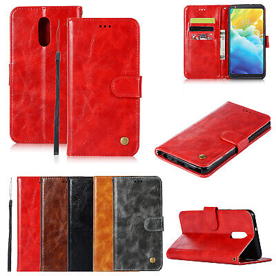 For Samsung Luxury Flip Leather Wallet Card Slot Stand Holder Case Cover Skin