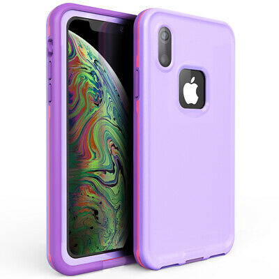 For Waterproof iphone Xr Xs Max Built-in Screen Protector Lovely Protection Case