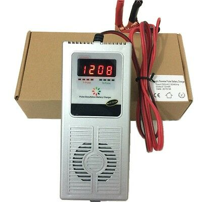 12V 8A Smart Battery Charger Maintainer Car Battery Charger for 30-140AH Battery