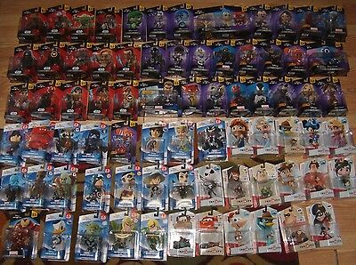 Disney Infinity 2.0 Figures Character Originals Marvel Many to Choose From New