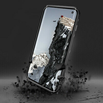 Shockproof Waterproof Galaxy S10 Plus Case Built-in screen protector Clear Cover