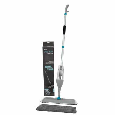 JVL Refillable Spray Mop Wet Dry Hard Wood Floor Tiles Cleaning Microfibre Mop