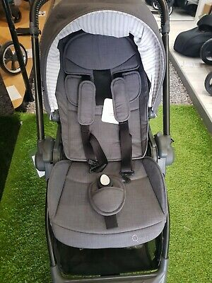 Egg Quail Stroller - Quantum Grey - Ex-display