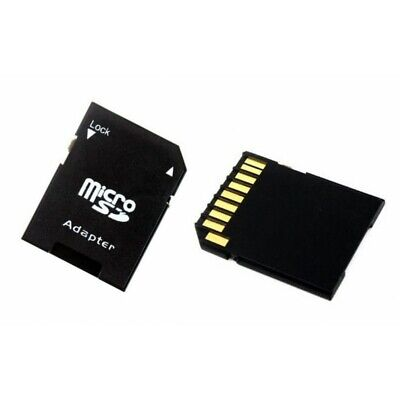 Micro Sd Sdhc Memory Card Adaptor Adapter Converter To Standard Sd **Uk Stock**
