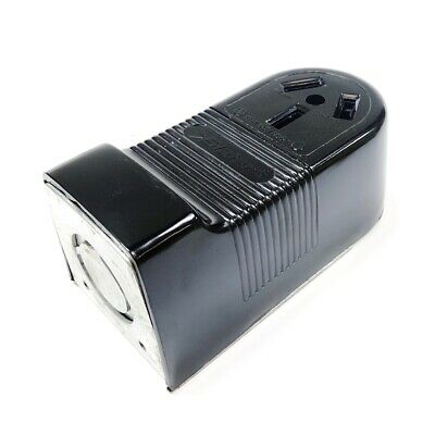 385 Pass & Seymor Surface Receptacle, 3-Pole, 3-Wire, 50A, 125/250V,