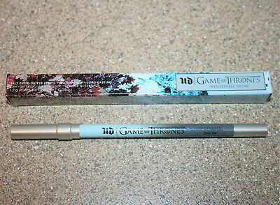 Urban Decay Game of Thrones WINTERFELL SNOW 24/7 Eye Pencil Eyeliner Authentic