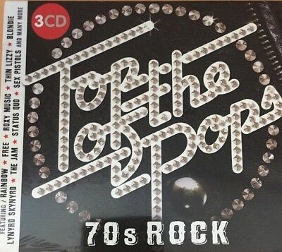 TOP OF THE POPS: 70S ROCK - NEW CD COMPILATION Sealed