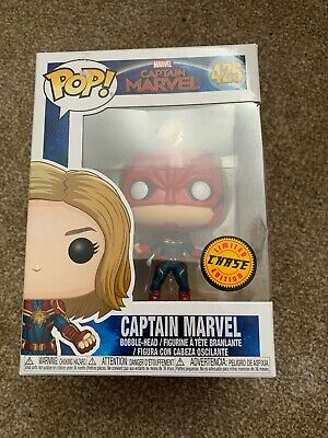 Pop! Funko Pop! Captain Marvel Limited Edition Chase Figure - #425 Brand New