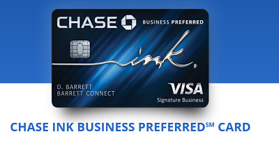 $120 + 80000 BONUS Points CHASE Ink Business Preferred Credit Card Referral