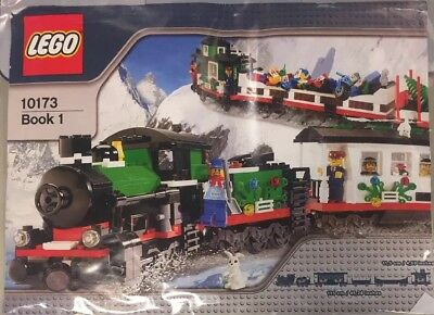 Lego set 10173 Christmas Holiday Train used  with instructions OBO